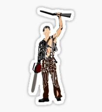 Ash - The Evil Dead Sticker