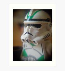 Seige Battalion Clone trooper Art Print