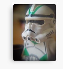 Seige Battalion Clone trooper Metal Print
