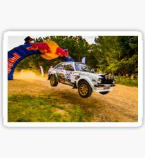Ford Escort MK2 Rally Jump Sticker