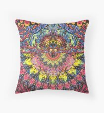 Incandescent Dance Throw Pillow