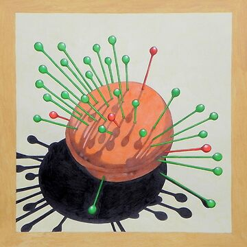 pincushion n. 2  (original sold) by ico1971