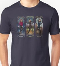 Art Nouveau - SHIELD Ladies Combined T-Shirt
