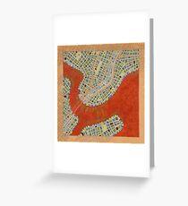 Cipher n. 14  (original sold) Greeting Card
