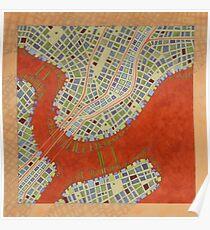 Cipher n. 14  (original sold) Poster