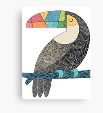Tucan chilling Canvas Print