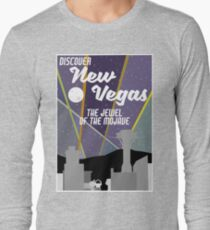 Vintage New Vegas Skyline Long Sleeve T-Shirt