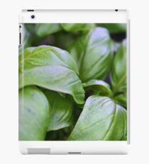 Fresh Basil iPad Case/Skin