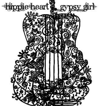 Hippie Heart - Gypsy Girl by adasha