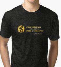 Make webcomics on a webcomics platform Tri-blend T-Shirt