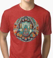 Hamsa Hand Tri-blend T-Shirt