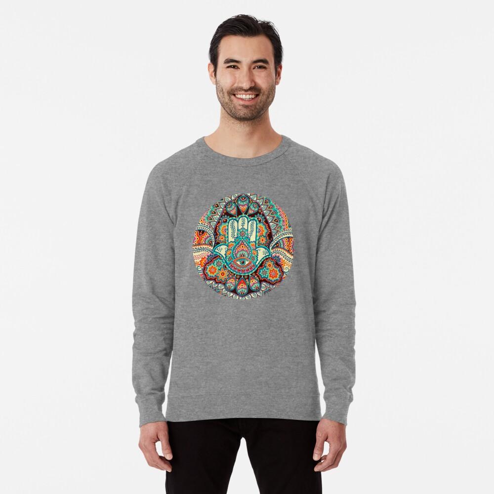 Hamsa Hand Lightweight Sweatshirt