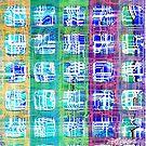 Power Grid Plaid by Seth  Weaver