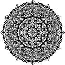 Shaded Leafy Mandala by WelshPixie