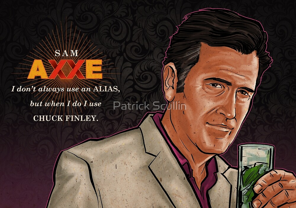 Chuck Finley by Patrick Scullin
