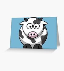 Bella the cow Greeting Card