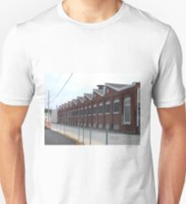 The Old Guild Guitar Factory Westerly, Rhode Island Unisex T-Shirt