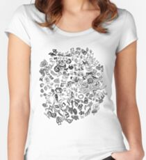 Doodle Mashup Women's Fitted Scoop T-Shirt