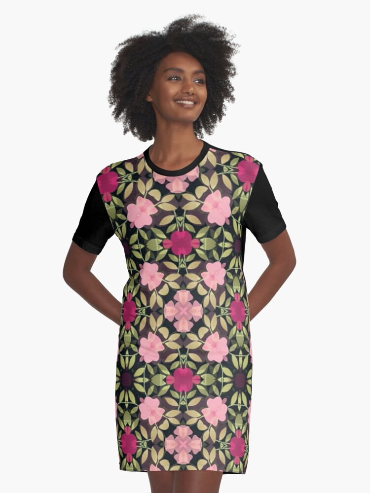 P1 Graphic T-Shirt Dress Front