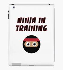 Ninja in Training iPad Case/Skin