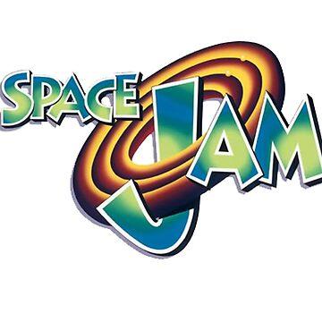 Space Jam Logo Design by BoringSoda