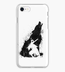 Abyss Warrior VERSION BLACK iPhone Case/Skin