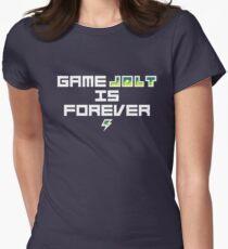 Game Jolt Is Forever Women's Fitted T-Shirt