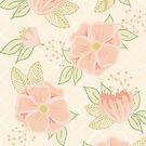 Cream and Sugar Florals by Gwen DeGroff
