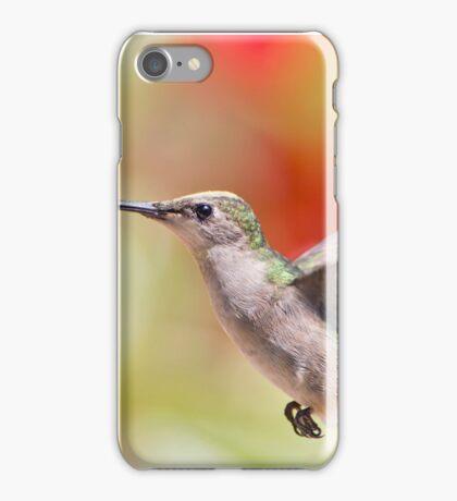 Hummingbird in Action iPhone Case/Skin