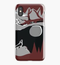 Wolf Dire iPhone Case