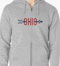 Ohio Arrow Zipped Hoodie