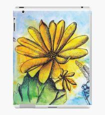 Vinilo o funda para iPad Flores del sol y dragones