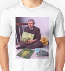 Bill Clinton Indie Rock Records - Neutral Milk Hotel, Vampire Weekend, Sleigh Bells, Explosions in the Sky  T-Shirt