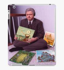 Bill Clinton Indie Rock Records - Neutral Milk Hotel, Vampire Weekend, Sleigh Bells, Explosions in the Sky  iPad Case/Skin