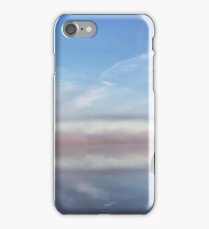 Lone umbrella iPhone Case/Skin
