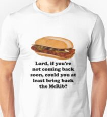 Bring Back The McRib Unisex T-Shirt