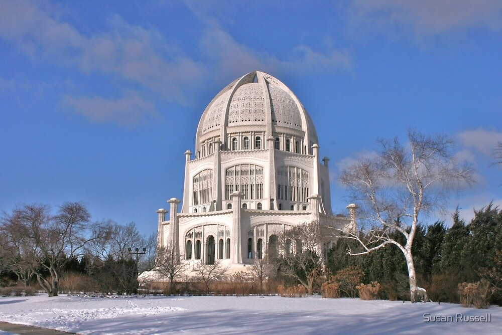Baha'i Temple in Chicago by Susan Russell