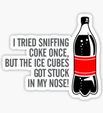 I once sniffed  Sticker