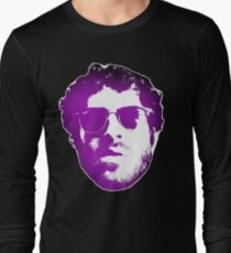 Lil Dicky face concept Long Sleeve T-Shirt