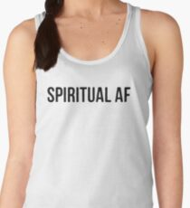 "Yoga Shirt - ""Spiritual AF"" - Yoga Clothes Women & Men - Yoga Tops Women's Tank Top"