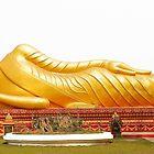 The Reclining Buddha by John Nelson