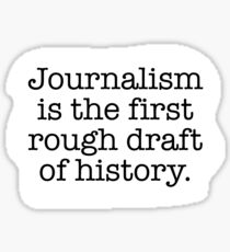 Journalism Sticker