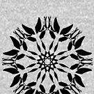 Symmetrical Geometric Design Pattern by Tabetha Landt