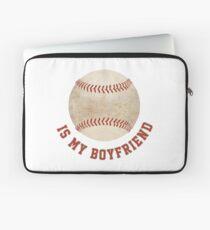 Baseball is My Boyfriend Laptop Sleeve