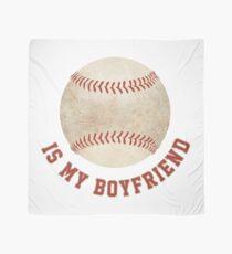 Baseball is My Boyfriend Scarf