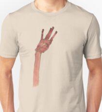 Schiele Hand (Transparent) Unisex T-Shirt