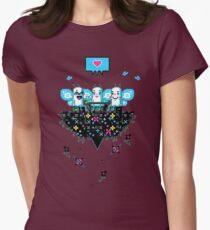 The Social Butterflies - Flighty Intellectuals Womens Fitted T-Shirt
