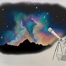 Stargazer  by ChelseaGraceArt