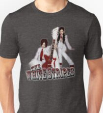 The White Stripes - Red & White Unisex T-Shirt