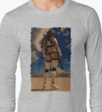Sexy Storm Trooper Long Sleeve T-Shirt